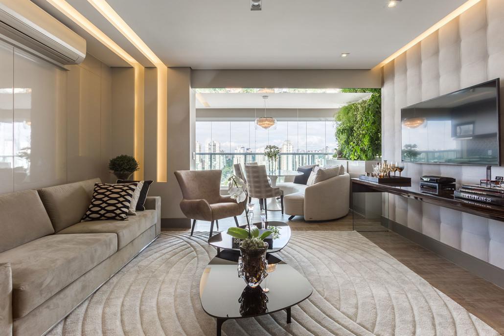 Decora o de casas pequenas casas kurten for Casa minimalista 80 metros